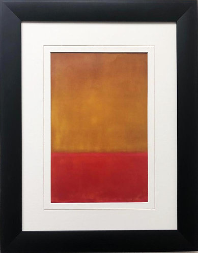 """Mark Rothko """"Ochre and Red on Red"""" 1954 FRAMED Art"""