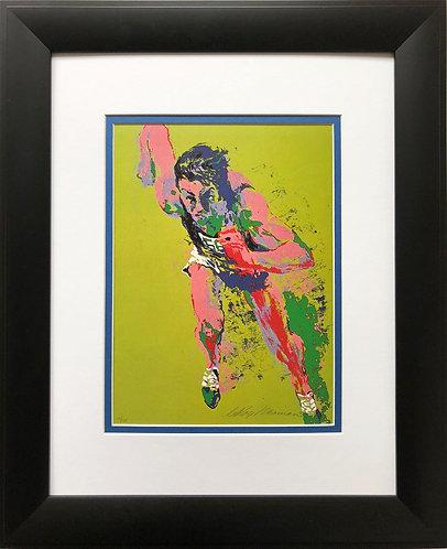 """LeRoy Neiman """"Olympic Runner '72"""" New FRAMED Print Running Runner"""