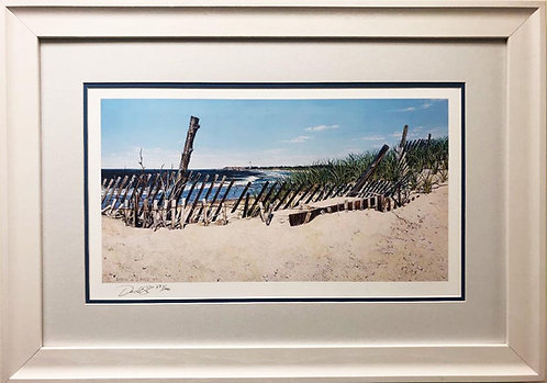 """David Sipple """"Cape May Point"""" Signed & # FRAMED Art"""