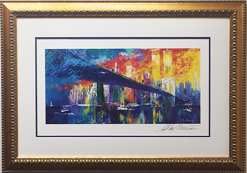 "LeRoy Neiman ""Brooklyn Bridge"""