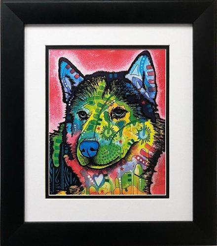 "Dean Russo ""Siberian Front"" FRAMED Pop Art"