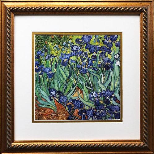 "Van Gogh ""Irises"" Framed Art Print"