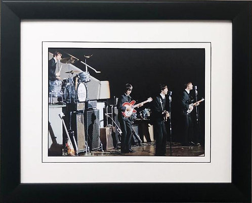 "The Beatles Collection ""Las Vegas"" Framed Art Poster"