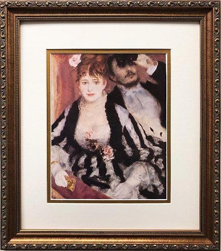 """Pierre-Auguste Renoir """"The Loge"""" FRAMED Art"""