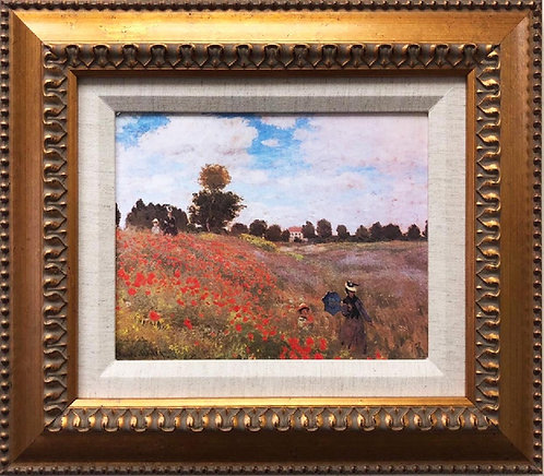 "Claude Monet ""Poppy Field"" FRAMED Art"