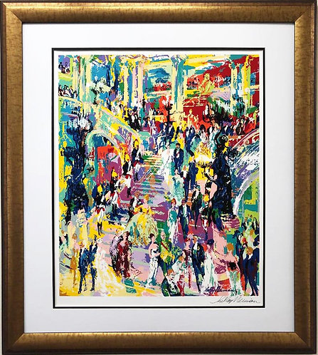 "LeRoy Neiman ""Paris Opera"" Custom Framed Art Hand Signed Serigaph New"