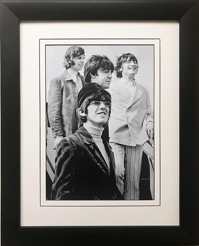 """The Beatles Collection """"Summer of 1966"""" Framed Art Poster"""