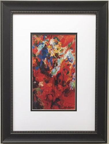 "LeRoy Neiman ""Red Orchestra"" Newly CUSTOM FRAMED Art Print Music"