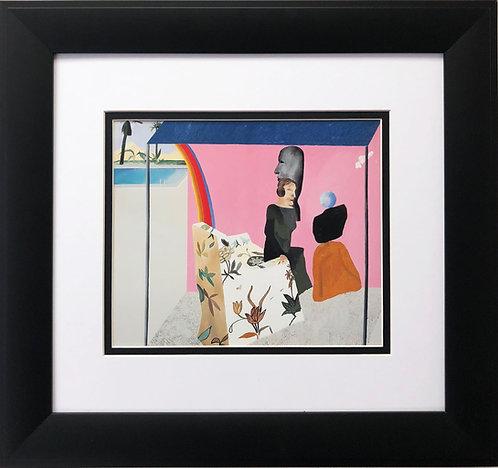"""David Hockney """"California Art Collector"""""""
