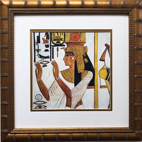 """""""Annex, Tomb of Nefertiti"""" Custom Framed Art Print"""