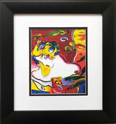"Peter Max ""Daydream"" Newly CUSTOM FRAMED Print"