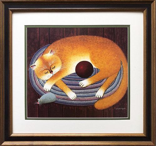 """Charles Wysocki """"Millie's Cat"""""""