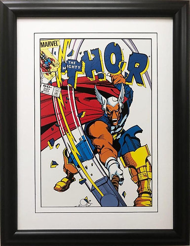 """Marvel The Mighty Thor"""" #337 Framed Comic Book Poster"""