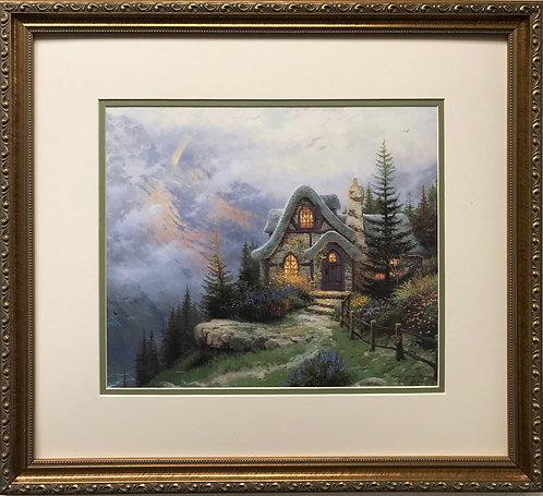 """Thomas Kinkade """"Sweetheart Cottage"""""""