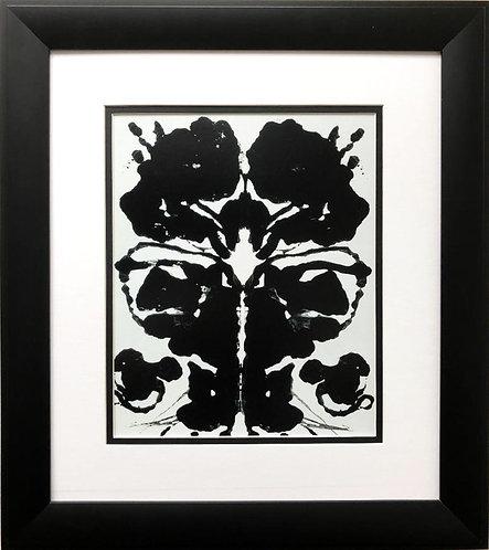 """Andy Warhol """"Rorschach, 1984 (3)"""" CUSTOM FRAMED Pop Art"""