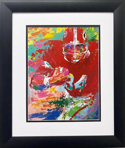 "LeRoy Neiman ""Herschel Walker-GA Dawgs"" FRAMED Art"