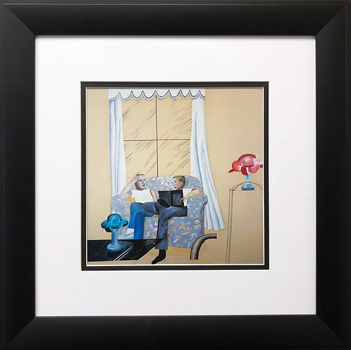 "David Hockney ""Domestic Scene"""
