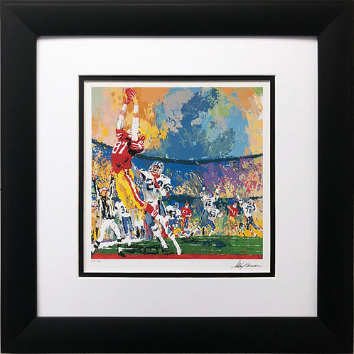 "LeRoy Neiman ""The Catch-Montana to Clark """