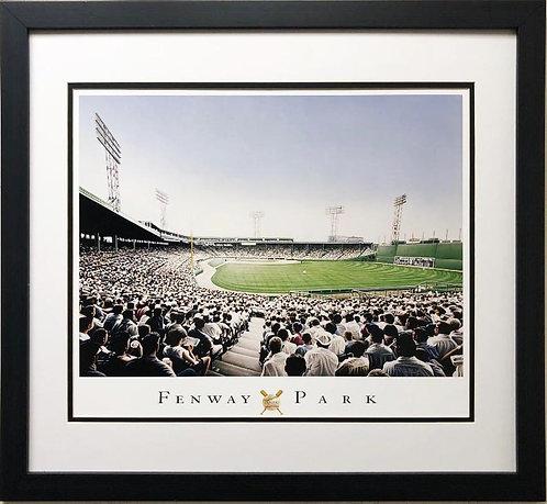 """Darryl Vlasak """"Fenway Park"""" Plate Signed Framed Art"""