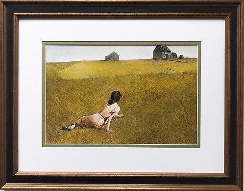 """Andrew Wyeth """"Christina's World"""" CUSTOM FRAMED Art"""