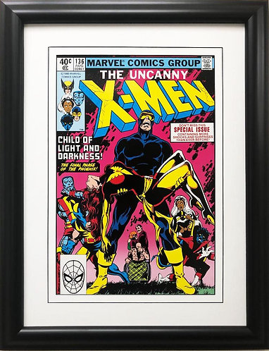 "Marvel ""The Uncanny X-Men"" #136 Framed Comic Book Poster"