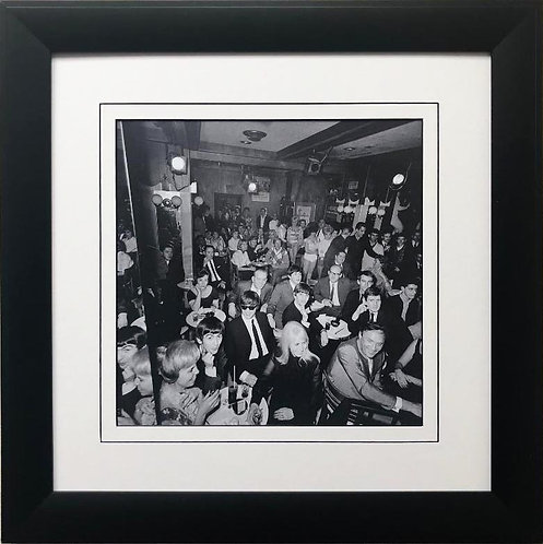 "The Beatles Collection ""Peppermint Lounge"" Framed Poster"