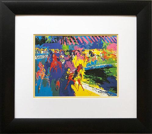 "LeRoy Neiman ""Saratoga""  Horse Race Racing NEW Art Print Races Horse Equestrian"