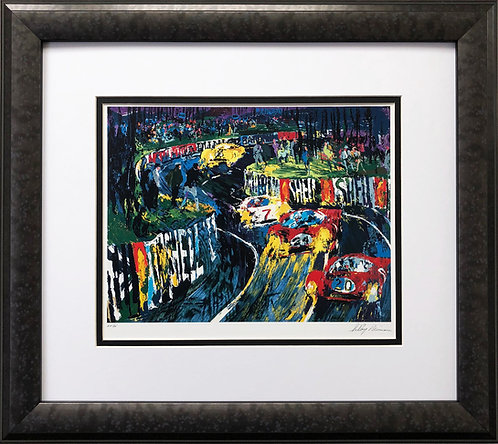"LeRoy Neiman ""24 Hours of Le Mans"""