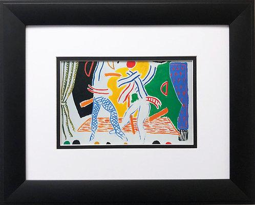"""David Hockney """"Two Dancers"""""""