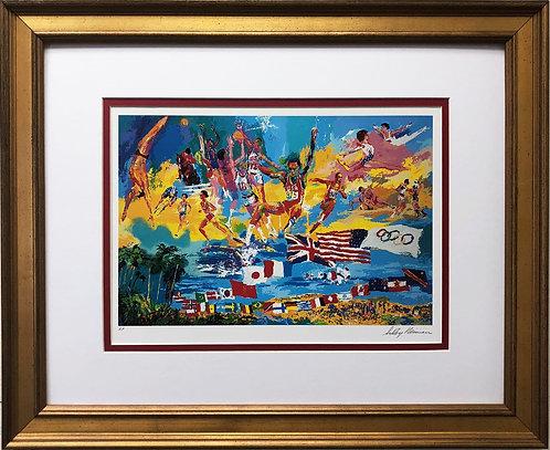 "LeRoy Neiman ""American Gold 1984"""