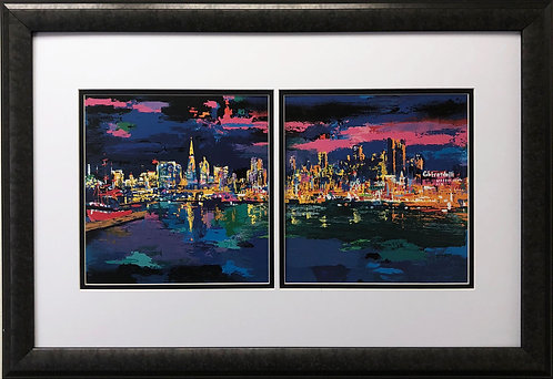 """LeRoy Neiman """"City by the Bay"""""""