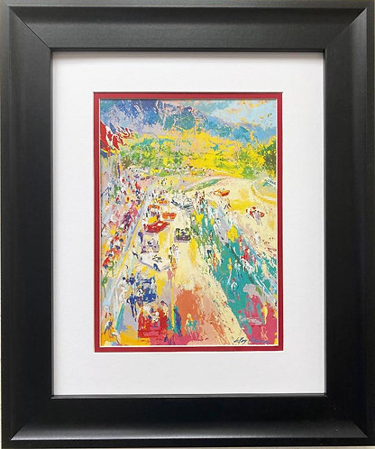 "LeRoy Neiman ""Can Am Mount Tremblant"" FRAMED Art Print"