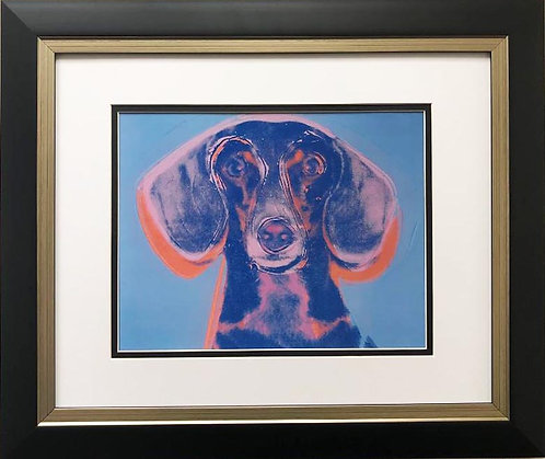 "Andy Warhol ""Portrait of Maurice"" 1958 CUSTOM FRAMED Art Lithograph"