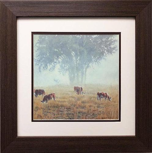 "Robert Bateman ""Summer Morning Pasture"" FRAMED Art"