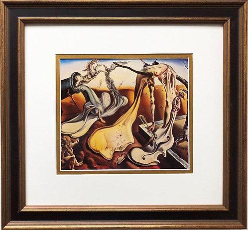 "Salvador Dali ""Daddy Long Legs of the Evening"" CUSTOM FRAMED ART"
