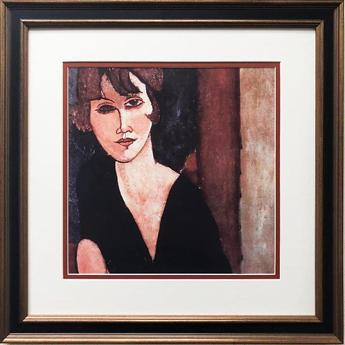"Amedeo Modigliani ""Portrait of Madame Reynouard"" CUSTOM FRAMED ART"