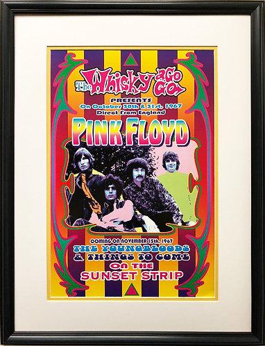 Dennis Loren Pink Floyd CUSTOM FRAMED Art 1967 Poster