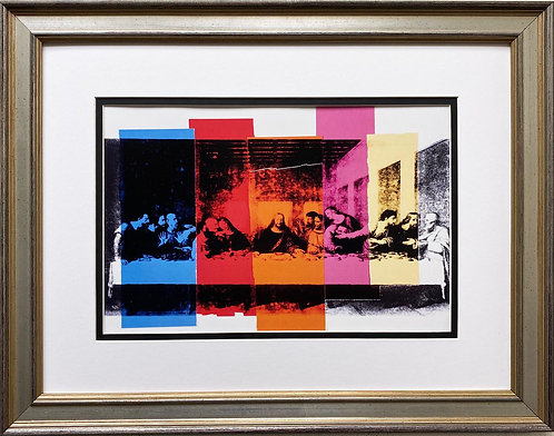 "Andy Warhol ""Details of the Last Supper"" FRAMED Pop Art"