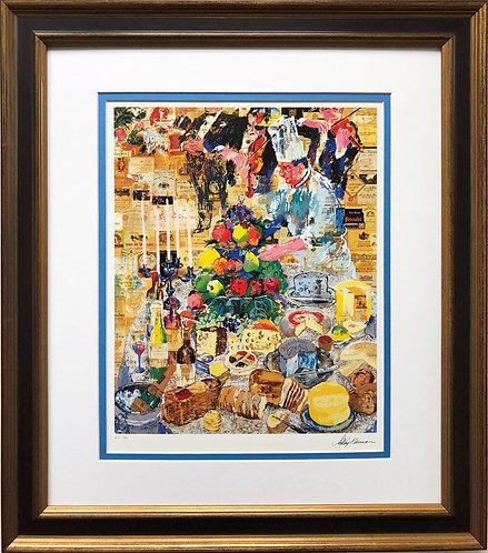 """LeRoy Neiman """"La Cuisine Francaise"""""""