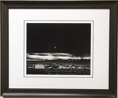 "Ansel Adams ""Moonrise"""