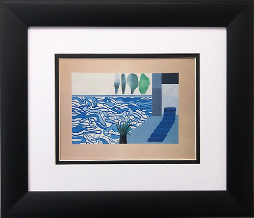 """David Hockney """"Picture of a Hollywood Swimming Pool"""""""
