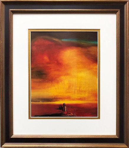 """Salvador Dali """"Sugar Sphinx"""" CUSTOM FRAMED ART"""