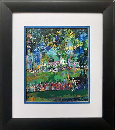 "LeRoy Neiman ""Oakmont Country Club- Pittsburgh"" FRAMED Art Print"