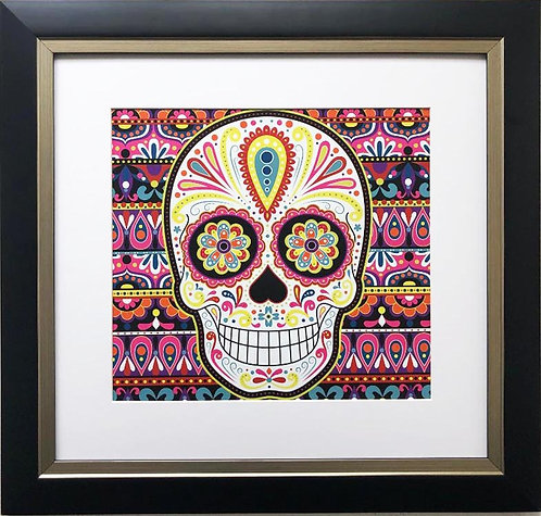 "Thaneeya McArdle ""Sierra"" Sugar Skull FRAMED Art"