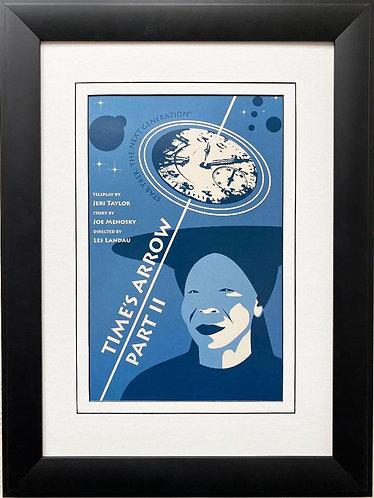 "Star Trek: The Next Generation ""Times Arrow-Part II "" FRAME ART"