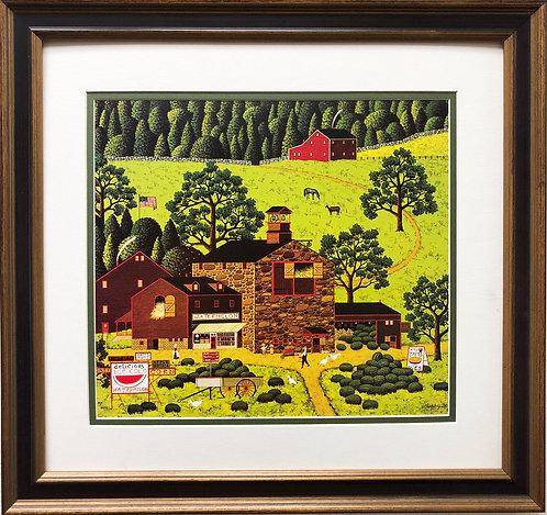 """Charles Wysocki """"Watermelon Farms"""""""