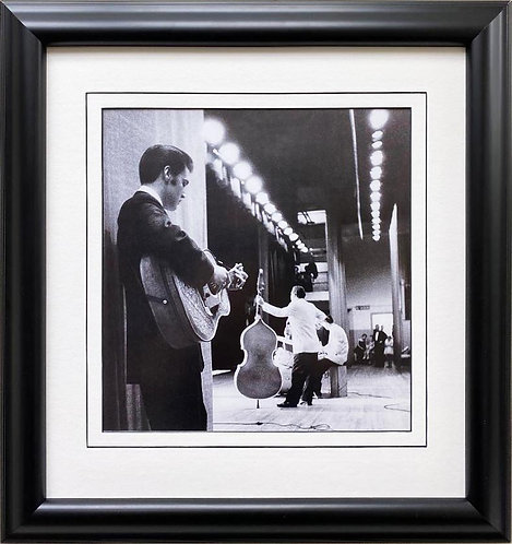 "Elvis Presley ""At the Mosque Theater"" Framed Litho Art"