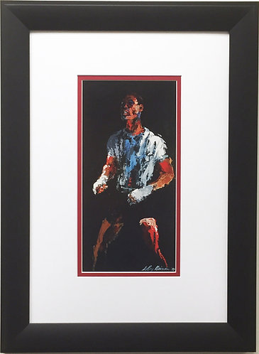 "LeRoy Neiman ""Sugar Ray Robinson"" Newly CUSTOM FRAMED Art Print - Boxing Sports"