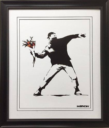"""Banksy """"Molotov"""""""