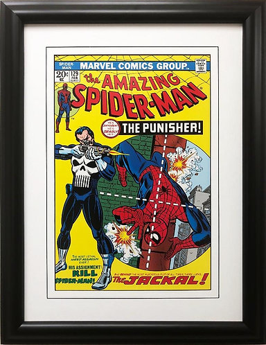 "Marvel ""The Amazing Spider-Man"" #129 (1990) Framed Poster Art"